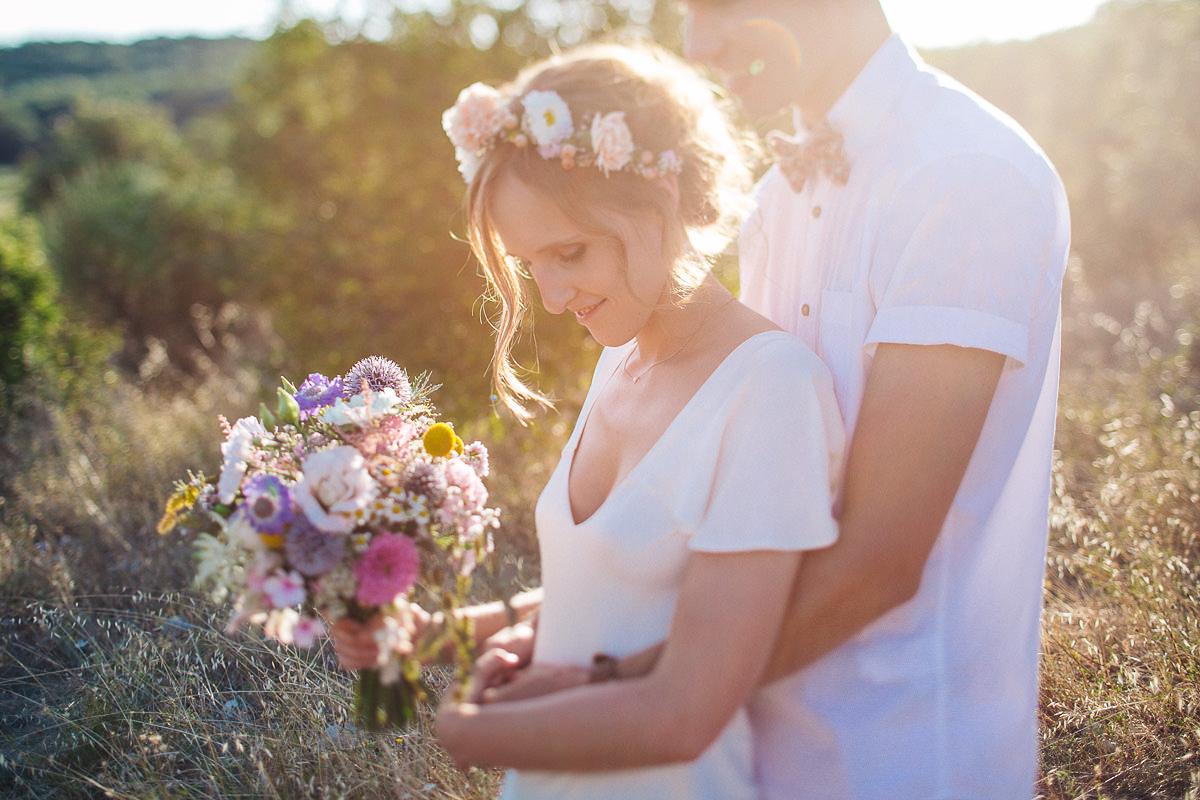 Grignan Provence wedding backyard