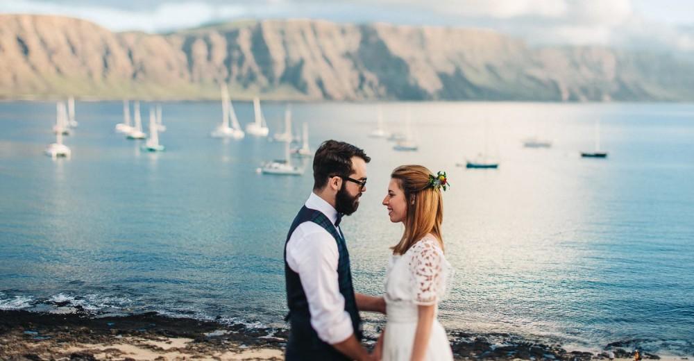 wedding photographer in lanzarote Spain