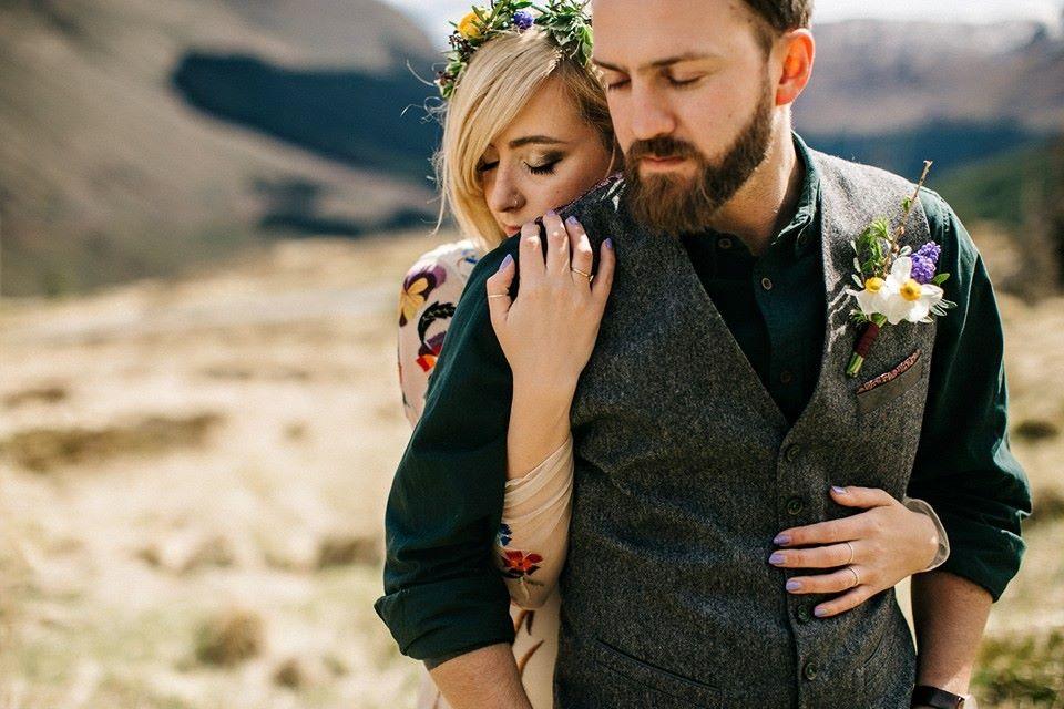 wedding photographer in glencoe scotland